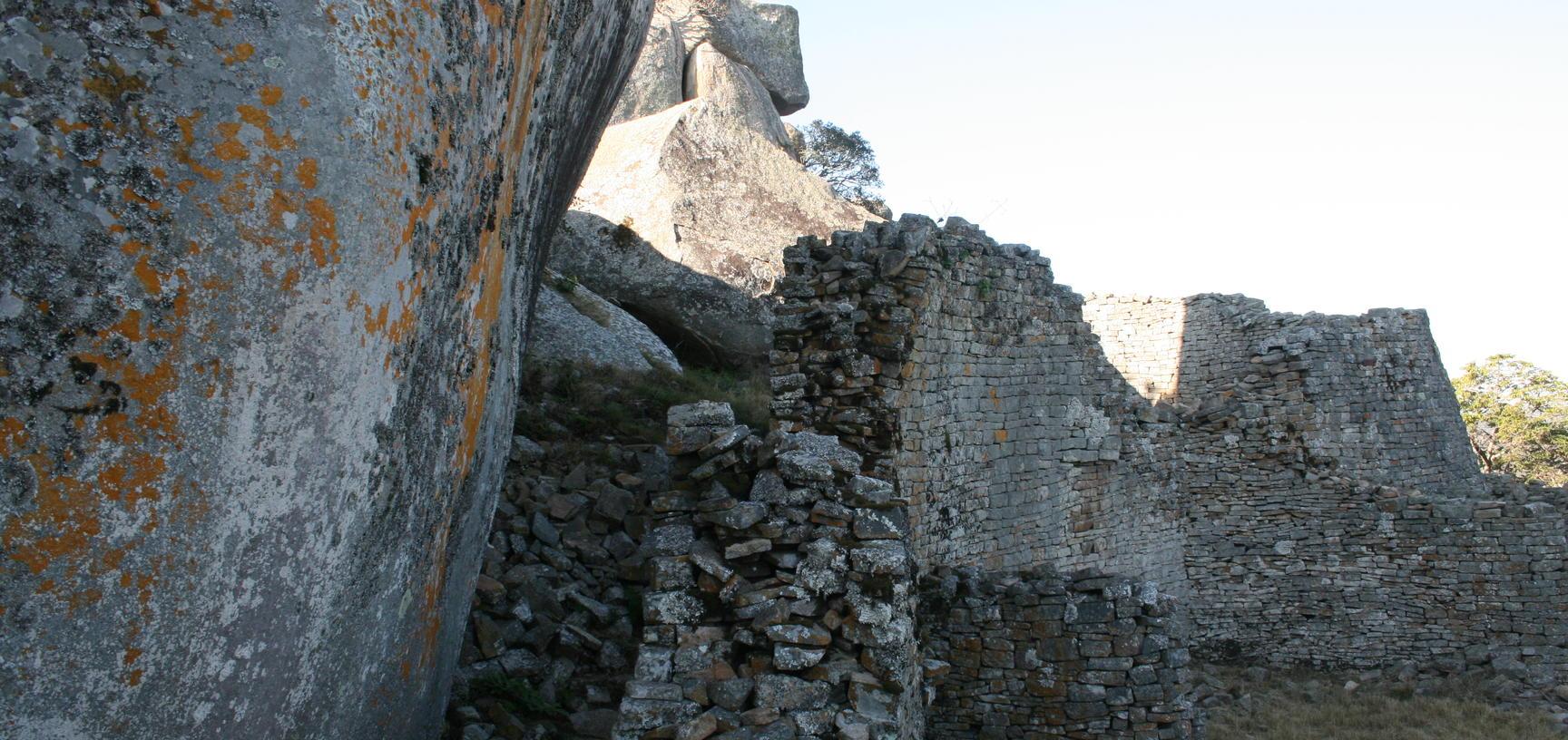 Walls at Great Zimbabwe