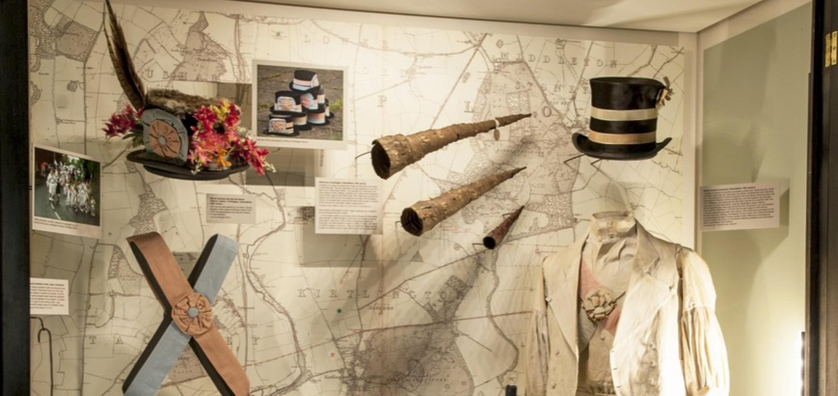 'Oxfordshire Folklore and Customs: Celebrating the Centenary of Antiquarian and Folklorist Percy Manning', Pitt Rivers Museum, University of Oxford, 20 February to 15 May 2017. (Copyright Pitt Rivers Museum, University of Oxford)