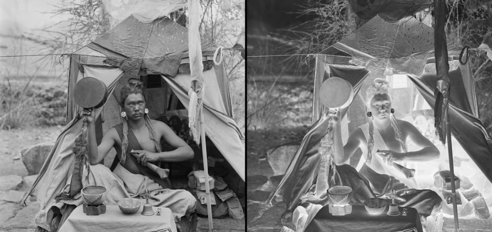Truptop lama. Photograph by Rabden Lepcha. 1921.