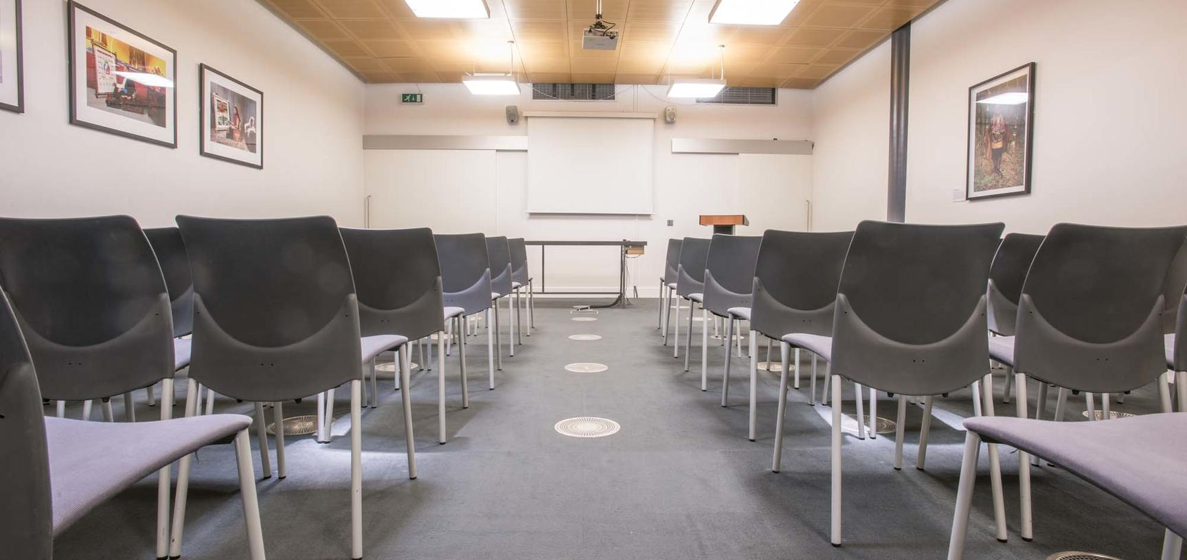 Chairs in meeting room
