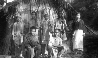 "'V Force' Naga scouts, nicknamed 'Bower Force'. Dima Hasao District, Assam, India. 'A guerrilla organisation, a unit known as ""V"" Force, whose job it was to recruit the hill-tribes as scouts' was used to defend against invasion into India by the Japanese."