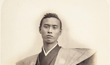 Portrait of Nagaaki Ikeda (Chōhatsu) (1837–1879), also known as Ikeda Chikugo no kami, chief envoy of the 1864 Japanese mission to France. Ikeda, who was appointed to represent the Tokugawa government at the age of twenty-six, was deemed to have failed wh