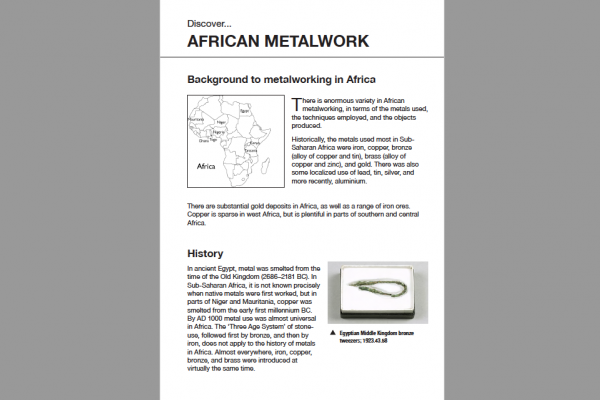 african metalwork