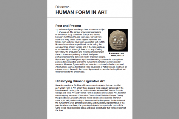 human form in art