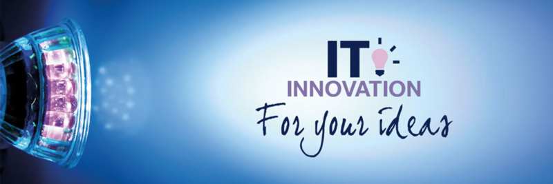 it innovation for your ideas logo
